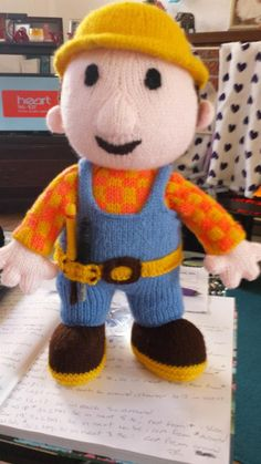 bob can build it, I can knit it!!! - Knitting creation by Anniev