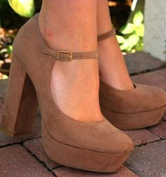 Nude heels are always a good idea