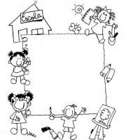 It's so important to teach the kids how to express themselves . like drawing about things thy like or not .