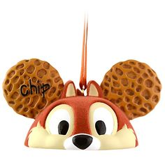 Limited Edition Ear Hat Chip an' Dale Ornament