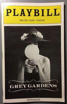 Grey Gardens Broadway Playbill Christine Ebersole, Modern Family's Sarah Hyland