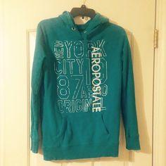 Aeropostale hoodie This hoodie is in great condition. Aeropostale Tops Sweatshirts & Hoodies
