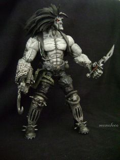 toycutter: Lobo action figure (DC Comics)