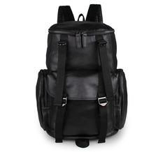 120.67$  Buy now - http://ali5o0.worldwells.pw/go.php?t=32741599046 - 100% Genuine Leather Laptop Backpacks For Teenagers Extra Large BackpaHandcraftcks 7318A 120.67$