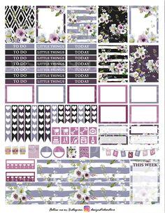 50% OFF SALE Anemone Planner by DesignStickerStore on Etsy