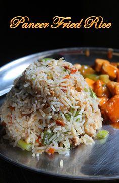 YUMMY TUMMY: Paneer Fried Rice Recipe / How to Make Paneer Fried Ricegive