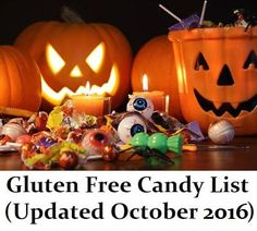 Every Halloween, Valentine's Day, and Easter, I update this gluten-free candy list to make sure you are all safe around the holidays...