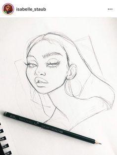 Zeichnung – Skizzen – - Famous Last Words Cool Art Drawings, Pencil Art Drawings, Art Drawings Sketches, Sketch Art, Cartoon Drawings, Cartoon Art, Drawing Drawing, Drawing Tips, Nature Drawing