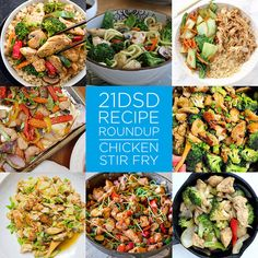 21DSD Recipe Roundup | Chicken Stir Fry | The 21-Day Sugar Detox by Diane Sanfilippo