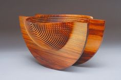 Hans Weissflog - Rocking Bowl Cocobolo Wood