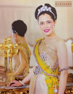 .HM The Queen Sirikit of Thailand.