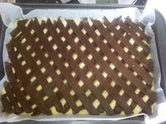 No Bake Desserts, Baking Desserts, Coco, Nutella, Louis Vuitton Damier, Food And Drink, Sweets, Snacks, Pattern