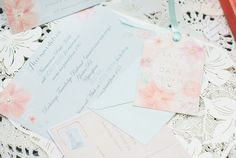 Pretty & Fresh Pastel Sparkly Wedding