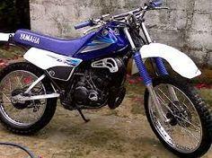 KIT Deco Motocross Yamaha DT 50 Comics Bleu 2003 /à 2020