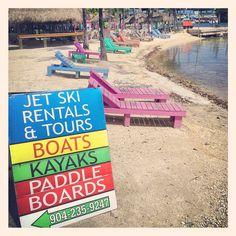 Water Sports at Colorful Key Largo (Key Largo, Florida)