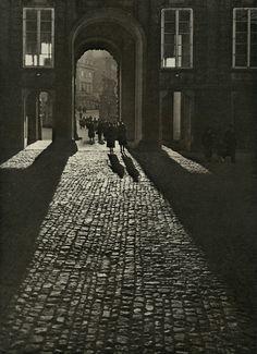 Josef Sudek - View of the First Courtyard through the Matthias Gate, date unknown    From Josef Sudek: Poet Of Prague