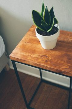 Ikea Hack Attack! Making a Side Table |