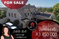 This beautiful family home is nestled away in the heart of Durbanville. If you enjoy entertaining or just lazing away next to the pool with your family - look no further. The inviting lounge with fireplace flows into the dining area and spacious kitchen with built in oven and hob. There is a separate scullery with ample space and plumbing points for a washing machine and dishwasher. #CCH #durbanville #durbanvillehomes #houseforsale #durbanvilleproperties #propertiesforsale #propertyforsale Oven And Hob, 6 Bedroom House, Best Hospitals, Maps Street View, Built In Desk, Cozy Fireplace, Water Lighting, City Living, Reception Rooms