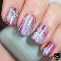 Polish Those Nails: 52 Week Challenge - Glitter Marble