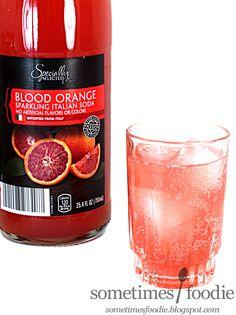 Sometimes Foodie: Blood Orange Sparkling Italian Soda - Aldi: Cherry Hill, NJ