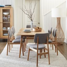 Love this dining suite from Freedom Furniture! Would totally suit my house but I just need them to be leather!!!