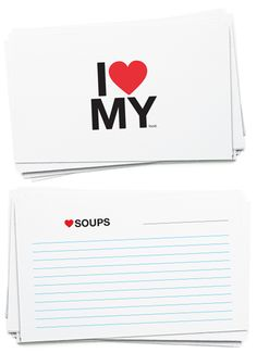 Awesome #printable #recipe cards! Just my style... Check it out @Gwen Neace...