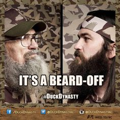 DuckDynasty It's a beard off