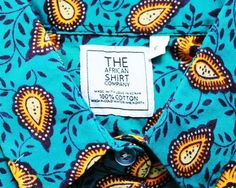 PAISLEY PATTERN - The African Shirt Company - Image Copyright African Shirt Company  http://www.africafashionguide.com/2013/01/the-african-shirt-company-love-shirts-love-africa-designer-profile/