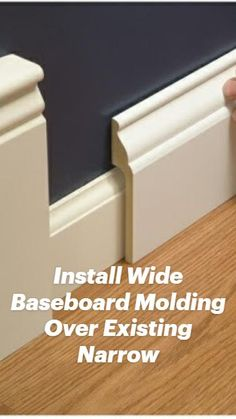 Moldings And Trim, Crown Molding, Moulding, Home Improvement Projects, Home Projects, Home Renovation, Home Remodeling, Diy Home Repair, Up House