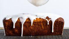 Grapefruit–Poppy Seed Loaf Cake with Yogurt Glaze Recipe | Bon Appetit