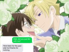 Not like Haruhi cares, but... Still made me laugh. Anime~Ouran High School Host Club (what a typeful, huh?)