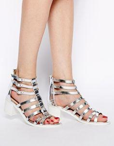 Enlarge ASOS HEATED Heeled Sandals