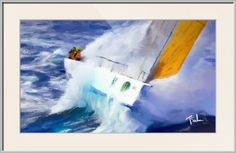 sailing by Tom Sachse
