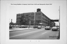 The Racine young Radiator Company SE of 6th and Marquette Street Racine WI. 1976