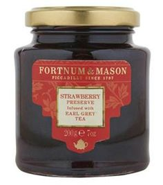 In the #UK the Fortnum & Mason line of preserves combines love for both jam and tea!