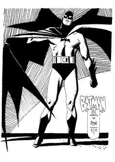 Batman by Alex Toth