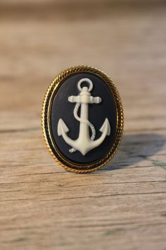 Nautical Anchor Ring @Cassi Tompkins
