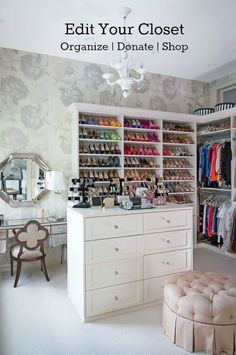 STYLE TIP OF THE WEEK-now is the time to edit your closet {organize, purge/donate, and shop for fall} | STYLE'N