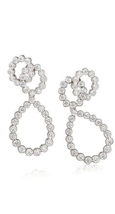 GABRIELLE'S AMAZING FANTASY CLOSET | Looped Diamond Earrings |