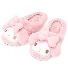 Let your feet rest in style everyday in those cute Sanrio Original slippers! They are made out of soft fuzzy plush fabric and feature an embroidered face with details. Kawaii Shoes, Kawaii Clothes, Kawaii Fashion, Cute Fashion, Cute Shoes, Me Too Shoes, Pretty Outfits, Cute Outfits, Cute Slippers