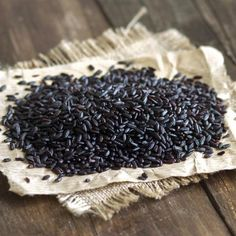 Black rice is notable for its flavor and nutrition, as well as its dramatic color.