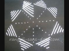Rangoli with dots - step 3