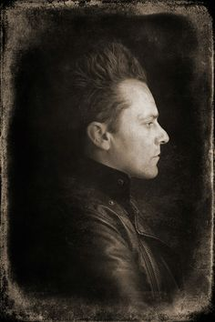 Christophe Vekeman (1972) - Flemish writer, poet and performer. Photo © Krijn Van Noordwijk