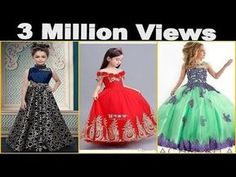 latest baby gown dress designs || Party Wear Dresses For Kids - YouTube