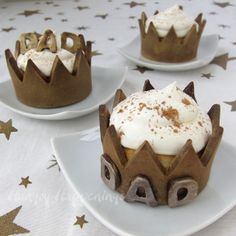 Hungry Happenings: Edible Crown Cupcake Wrappers to Celebrate Dads this Father's Day