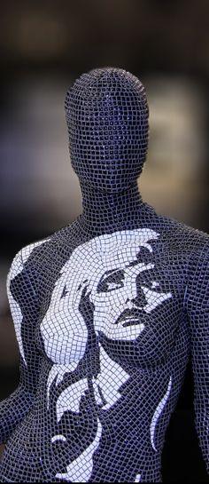 www.mosaicsart.co.uk · Decorative Mannequin Art by Mosaics Art London · BESPOKE · UNIQUE · INSPIRED