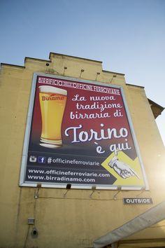 Maxi pubblicità Birra Dinamo