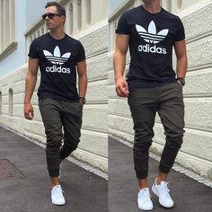 "3,530 Likes, 267 Comments - Konny (@konstantin) on Instagram: ""Adidas  #blvck#blvckfashion#adidas#3stripestyle…"""