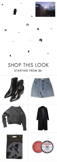 """""""through the sorrow all through our splendour don't take offence at my innuendo"""" by the-soft-parade ❤ liked on Polyvore featuring Mon Cheri, Topshop, American Apparel, Non, Rosebud Perfume Co., Prada, Hemingway and vintage"""