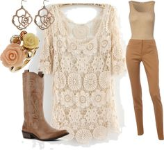 """""""Lace and Leather"""" by jessica-shafer on Polyvore"""